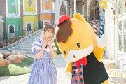 内田彩、鶴のポーズやダンスも披露したぐんまちゃんとのコラボ曲MVを公開