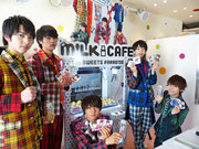 M!LK、SWEETS PARADISEとのコラボカフェでスペシャルイベントを開催