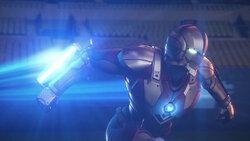 画像:Netflixアニメ『ULTRAMAN』本編映像、細部にこだわり描かれた変身シーン!異星人との初バトルも