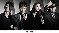 画像:テーマソングを担当する「Q-MHz」