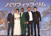 新田真剣佑「迫力を体感して」 出演した『パシフィック・リム』新作プレミアに堂々登場!