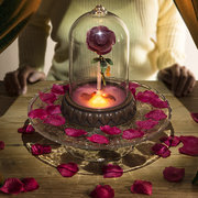 画像:「魔法のバラ」ライト イメージカット(c)Disney
