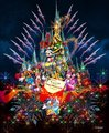 画像:TDLに新キャッスルプロジェクション 「ディズニー・ギフト・オブ・クリスマス」がクリスマス限定で開催