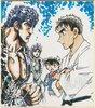 画像:『名探偵コナン 紺青の拳』×『北斗の拳』超異色コラボ、奇跡の描き下ろしイラストも