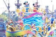 【ディズニー】ダッフィー&フレンズもお祝い!新水上グリーティングお披露目