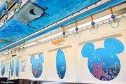 まるで海の中 「ニモ&フレンズ」モノレール、TDRで5月8日から運行