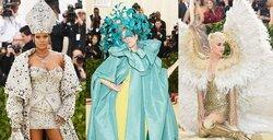 画像:リアーナ&ケイティら「メットガラ」で個性が爆発!衣装のテーマは「カトリック」