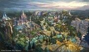 東京ディズニーシー、新テーマポート2022年開業 「アナと雪の女王」「塔の上のラプンツェル」「ピーター・パン」の世界を再現