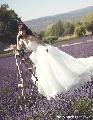 画像:ウエディングドレスをプロデュースした小嶋陽菜(画像提供;所属事務所)