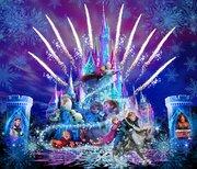 全編『アナと雪の女王』の新キャッスルプロジェクション「フローズン・フォーエバー」が2017年1月スタート