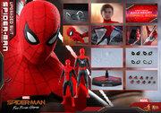 『スパイダーマン』赤×黒のアップグレードスーツ版がフィギュア化、トニー・スタークが遺したサングラスも付属