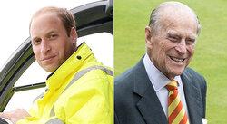 画像:ウィリアム王子&フィリップ殿下、それぞれの仕事から退く決意
