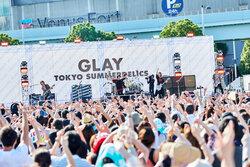 画像:GLAY、お台場でのフリーライブに約1万人が集結