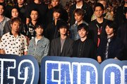 画像:『HiGH&LOW THE MOVIE2 END OF SKY』完成披露試写会
