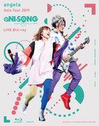 "angela、アジアツアー東京公演を収録したBlu-rayは演出をより楽しめる""もっとaNI-SONG""アングル機能付き"