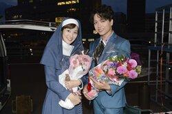 画像:山崎育三郎&高梨臨「あいの結婚相談所」がクランクアップ! 「いままでで一番楽しかった」