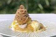 【ディズニー】モンブランとパンケーキのおいしい融合!カフェ・カイラの新感覚メニューを実食