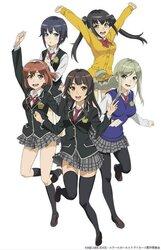 画像:「スクスト」のTVアニメ化が決定!『スクールガールストライカーズ Animation Channel』が2017年1月に放送