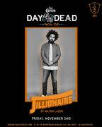 MAJOR LAZERのJILLIONAIREを迎えた、メキシコの祝日を祝うイベント『DAY OF THE DEAD』開催