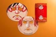 歌舞伎フェイスパックから『ONE PIECE』が登場!隈取りのルフィと赤髪のシャンクスに変身!
