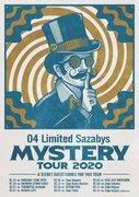 04 Limited Sazabys、当日までゲストが謎の『MYSTERY TOUR 2020』を発表