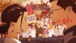 画像:バンプ最新曲「記念撮影」のMV公開! カップヌードルCMはサザエさんに!?