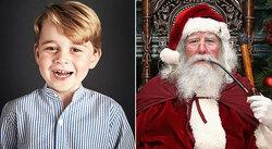 画像:可愛すぎる!ジョージ王子、サンタさんに手紙でプレゼントお願い