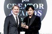 稲垣吾郎の流行語も「おっさんずラブ」!? 吉田鋼太郎&松岡茉優と「Penクリエイター・アワード」受賞