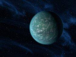 画像:ケプラー22b/画像はNASAより