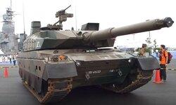 画像:大洗町で展示された10式戦車/YouTubeより