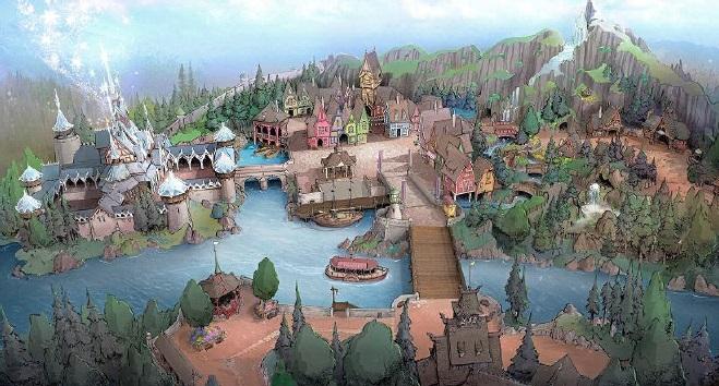 北欧をテーマとし新テーマポートに『アナと雪の女王』