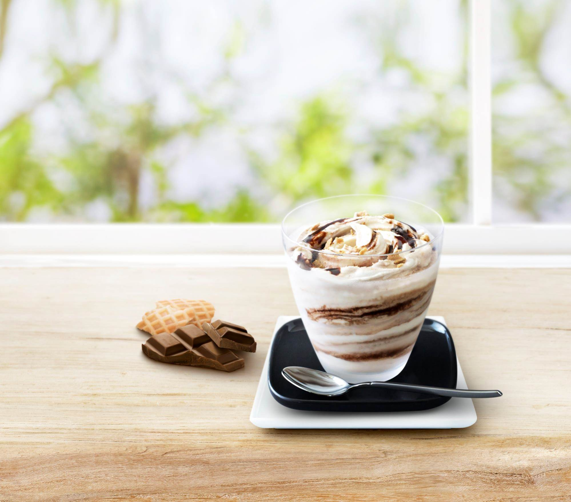 マックフルーリー ワッフルチョコレート
