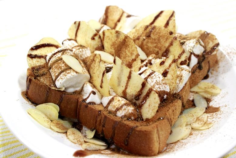 朝食用ポテトチップス盛り合わせ例2