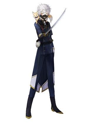 刀剣男士人気ランキング2位 鳴狐 戦闘時