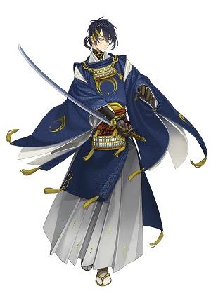 刀剣男士人気ランキング3位 三日月宗近 戦闘時