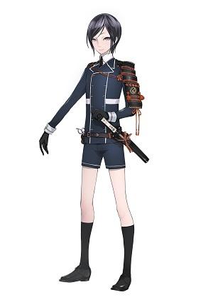 刀剣男士人気ランキング5位 薬研藤四郎 通常時