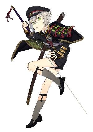 刀剣男士人気ランキング9位 蛍丸 戦闘時