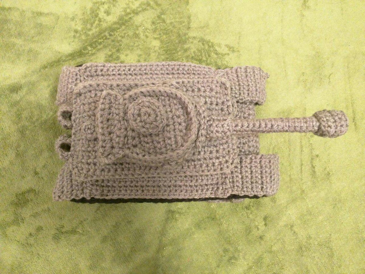 手編みの「ティーガーI」