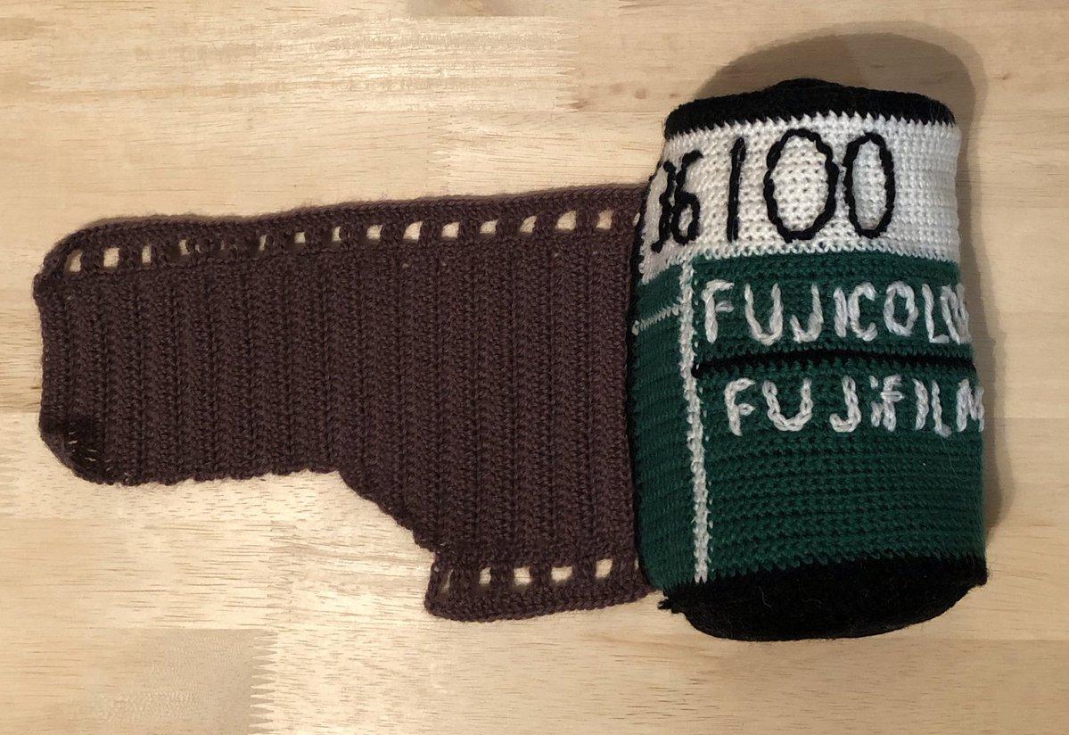 「フジカラー100」マフラー