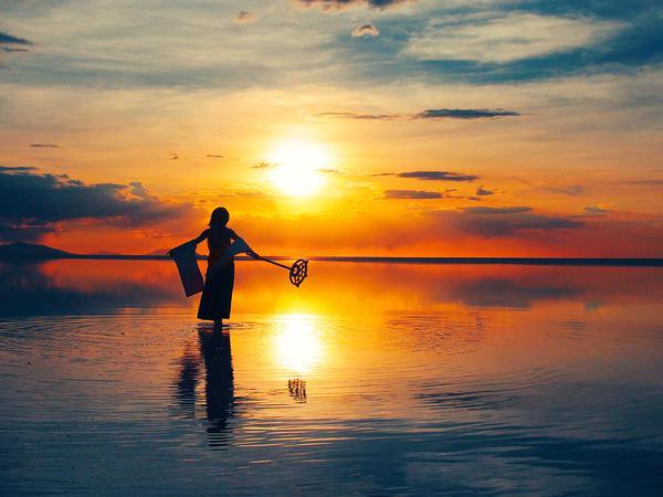 ウユニ塩湖でユウナの異界送り2