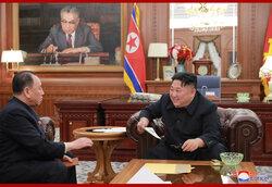画像:「トランプ大統領の決断力を高く評価」金正恩氏
