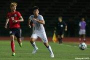 貪欲にゴールを狙う大学生FWの小松蓮、U−23選手権で「結果を残す」