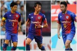 画像:FC東京が日本代表DF森重&室屋、MF梶山との契約更新を発表