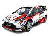 WRC:トヨタ、2020年仕様のヤリスWRCスタジオショット公開。「より軽量かつパワフル」