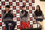 """元SKE48の梅本まどかなど""""WRC招致応援団""""がトークショーに登場。2020年の日本開催に向けエール"""