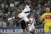 新潟、22歳ターレスが移籍加入…U21ブラジル代表経験持つ大型FW