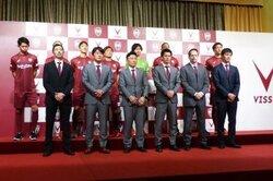 画像:神戸が今季の背番号を発表…チョン・ウヨンは「5」、ウェリントンは「17」に決定
