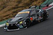 岡山トヨペットK-tunes RacingのレクサスRC F GT3が装い新たにテストに参加