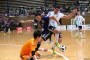 フットサル日本代表、W杯前回大会王者アルゼンチンに敗れる「勝たないと次に進めない」