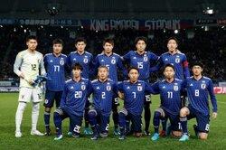 画像:最新のFIFAランク、日本は55位で順位を1つ上げる…セネガルが27位に後退